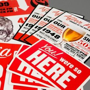 Go Media Open House Print Design Collateral