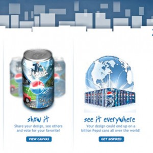 Pepsi Express More Website Design - Homepage