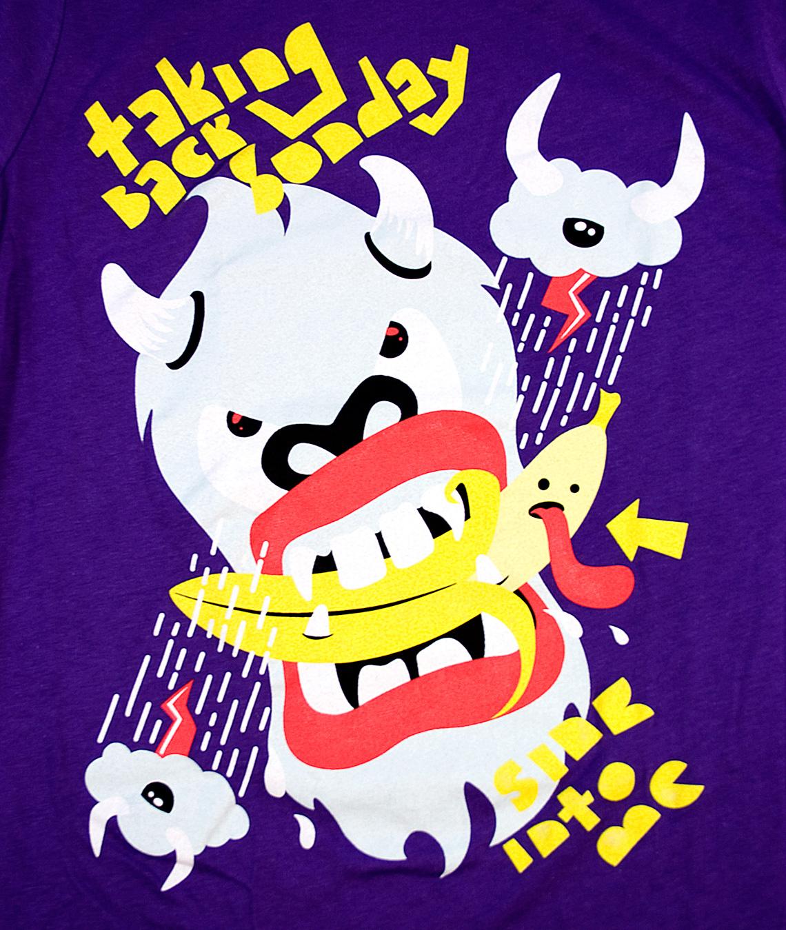 Taking Back Sunday T-Shirt Illustration