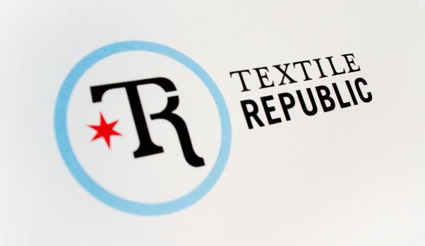 Textile Republic Logo Design rebranding