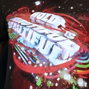 Bold Is Beautiful T-Shirt Design