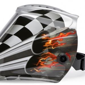Lincoln Electric Motorsports Welding Helmet Design