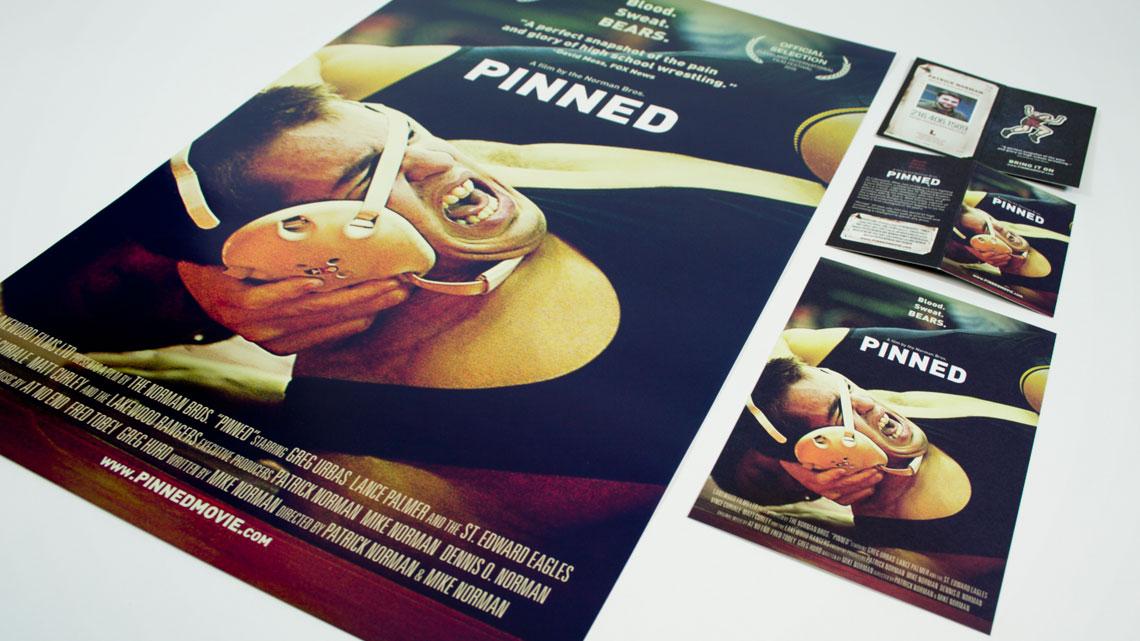 Pinned Movie Dvd Pinned Movie Print Design