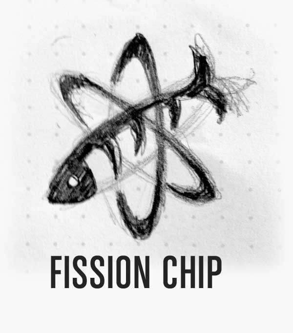 Fission Chip Logo Design