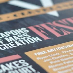 WMC Fest 2012 Print Design - Header