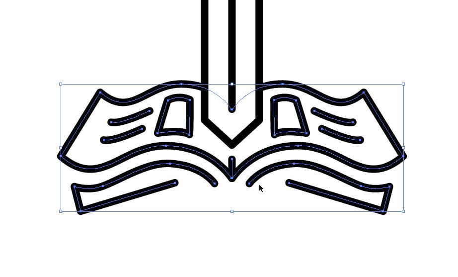 Thick Line Art: Creating Iconic Vector Art - Go Media