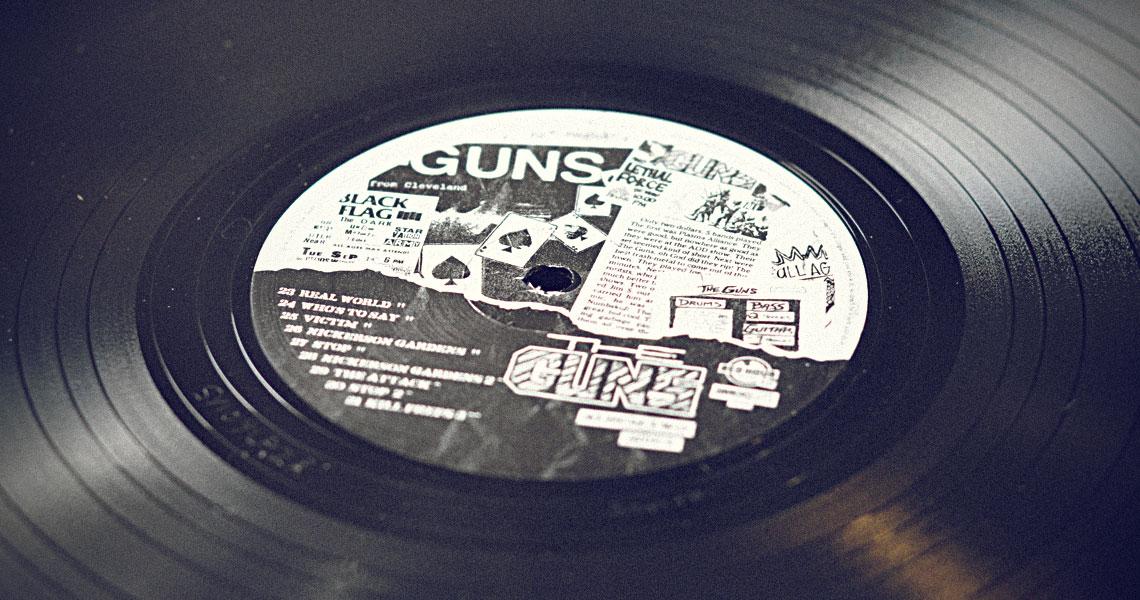 The Guns Double Lp Album Art By Go Media