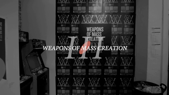 Weapons of Mass Creation Fest 2012: the video