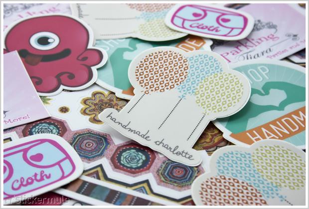 Customdiecutstickerscollage Go Media  Creativity At Work - Custom die cut stickers how to apply