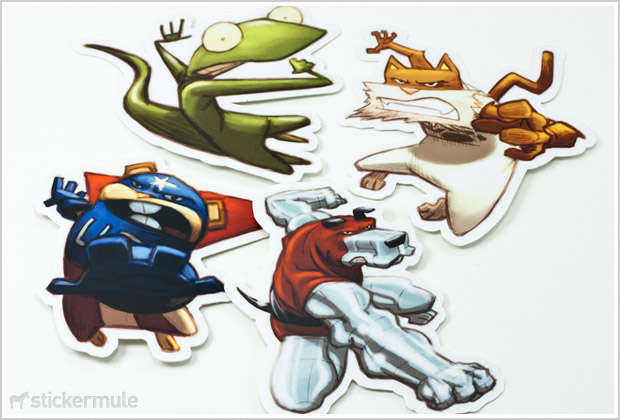Customdiecutstickerspets Go Media Creativity At Work - What are custom die cut stickers