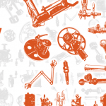 Steampunk Series: Machinery Vector Pack (Freebie Inside)