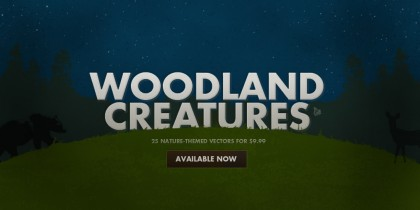 Woodland Creatures Vector Pack Available Now