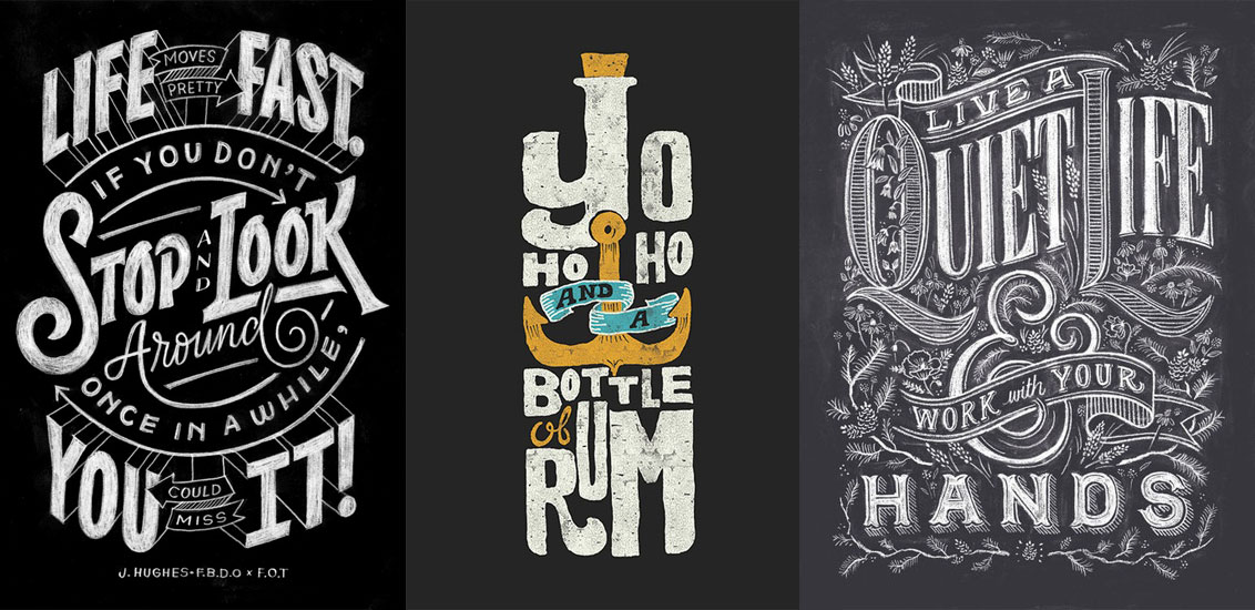 33 Inspiring Typographic Designs Go Media Creativity