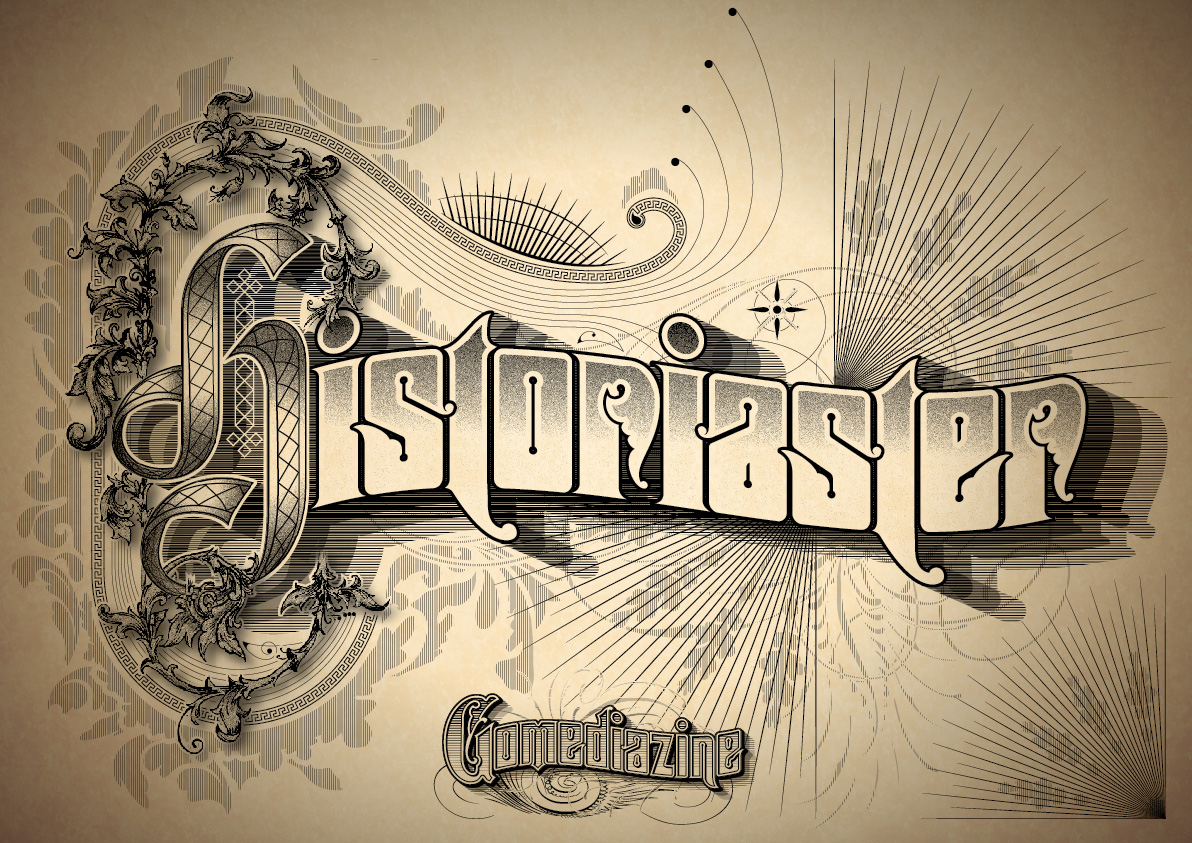 Vintage Typography Tutorial Go Media Creativity At Work