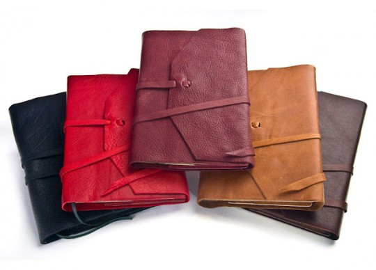 Refillable Italian Leather Calf Skin Journals