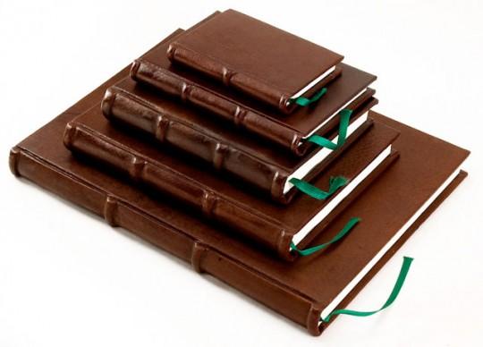 Italian Leather Journals with Classic Laid Pages