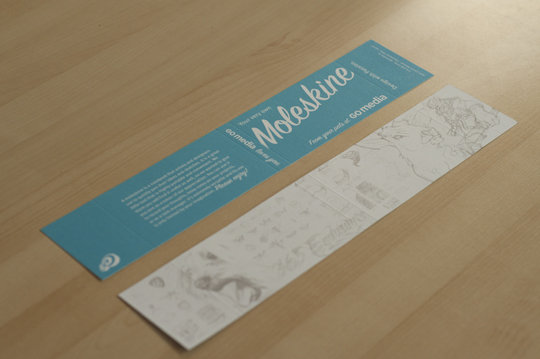 Go Media Moleskine Packaging