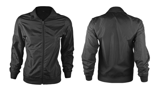 Ladies Tafetta Windbreaker - Ghosted