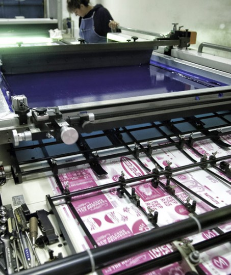 silkscreen sticker printing