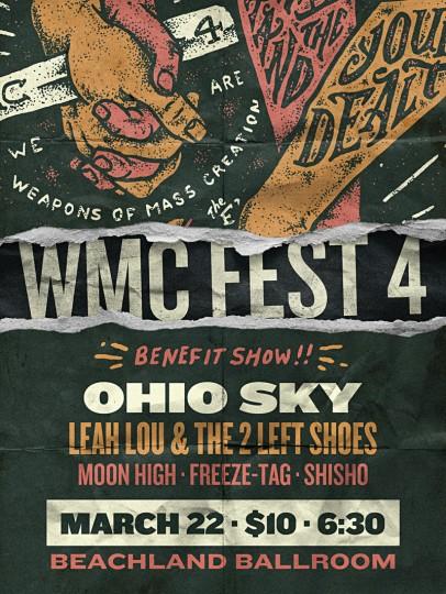 WMC Benefit Show Flyer