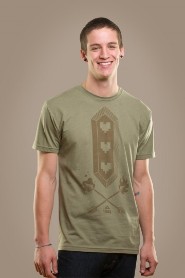 Tri-Heart Tee from Rockhart Clothing