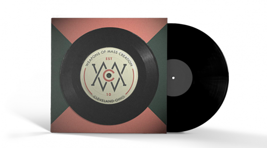 Vinyl Record - Mocked Up