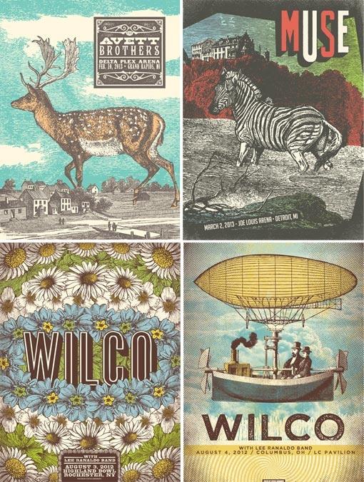 Status Serigraph Posters