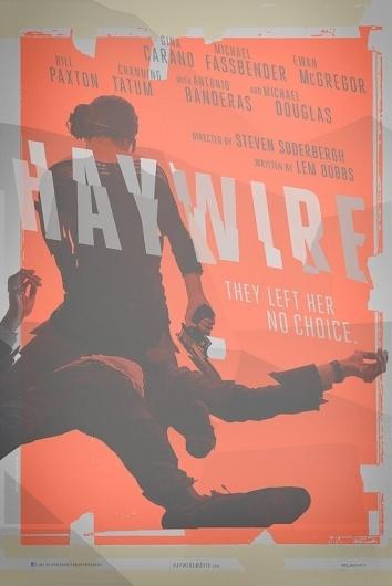 Steven Soderbergh's 'Haywire' Teaser Poster - Designer Neil Kellerhouse