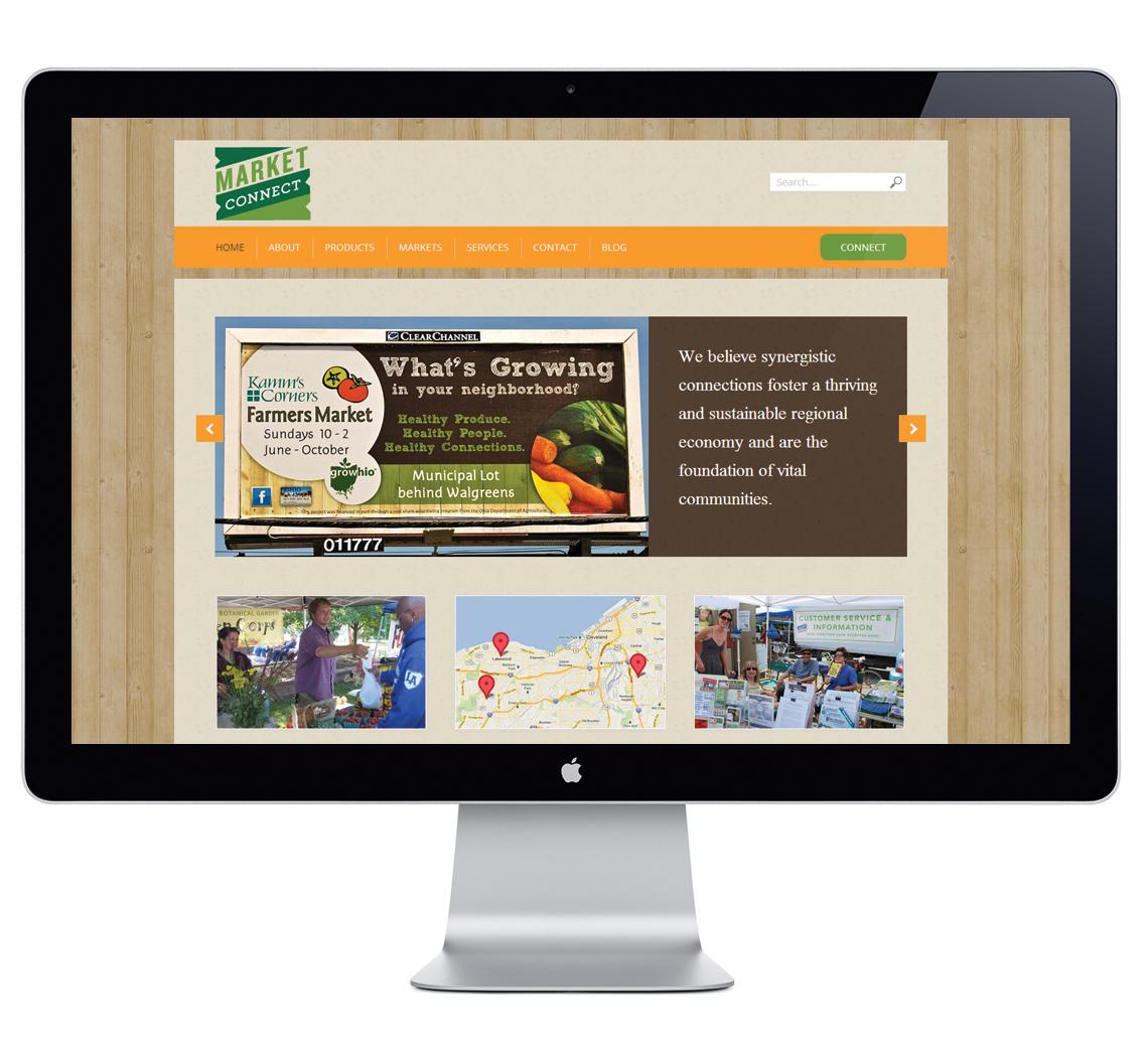 Market Connect Responsive Website Design