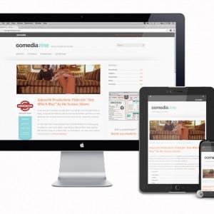 GoMediaZine Responsive Website Design