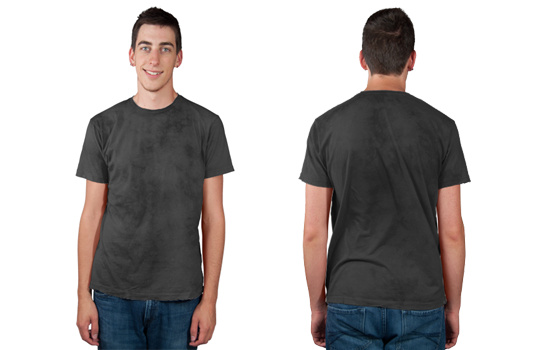 Men's Distressed Tee Modelshot