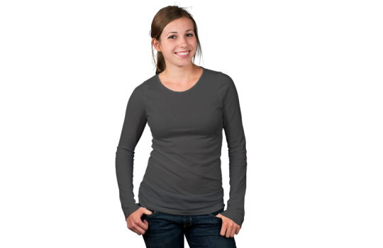 Women's Long Sleeve Modelshot