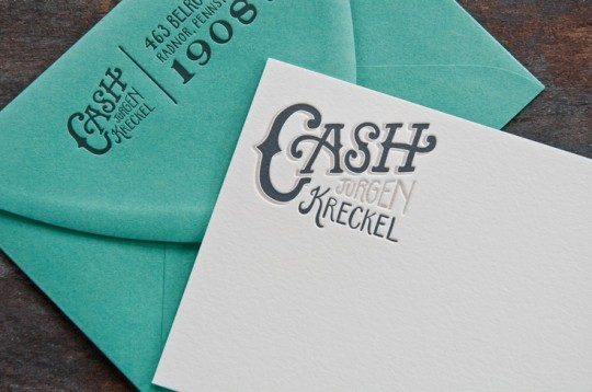 CASH KRECKEL THANK-YOU NOTE