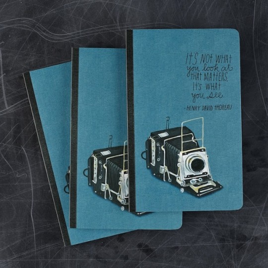 Inspired Photography Themed Journal by Lisa Congdon
