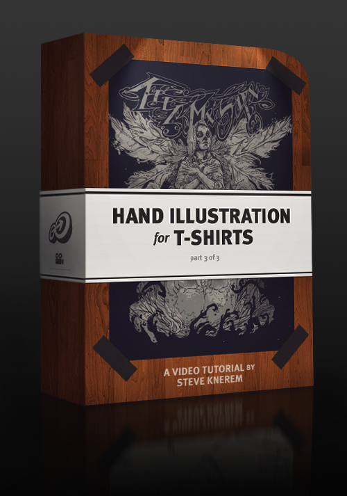 Hand Illustration for T-Shirts, Part 3 of 3 - Go Media's Arsenal