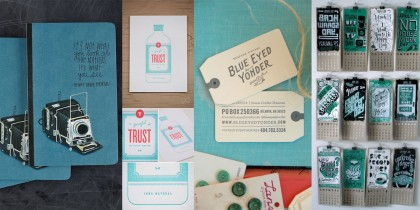 Print Design Inspiration - April 2013
