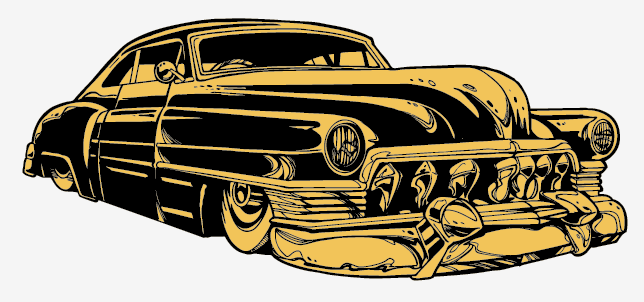 create a rockabilly poster with vector set 22   part i