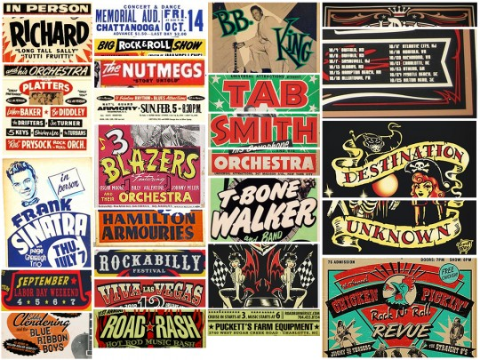 Create an Iconic Rockabilly Poster With Vector Set 22 – References details
