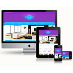 Interior Design Portfolio Responsive Web Template: view demo