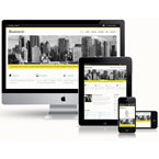 Corporate Responsive Website Template: view demo