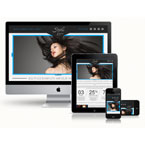 Responsive Hair Salon HTML Template: view demo