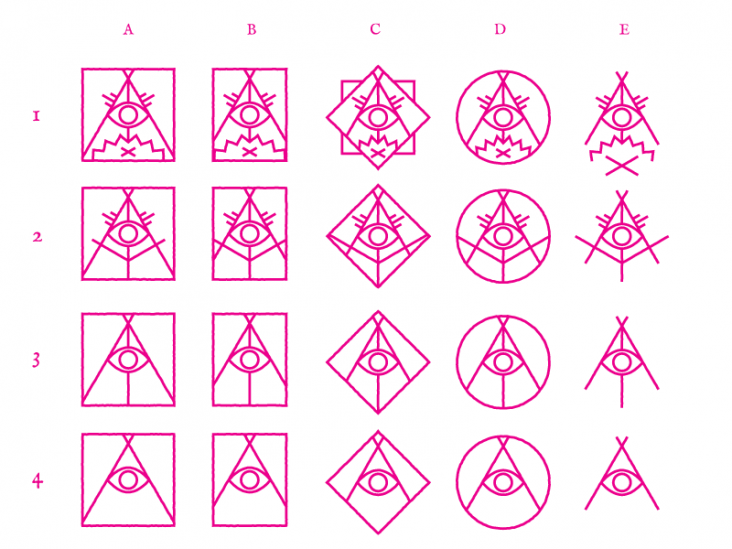 original vector concepts for the campfire conspiracy logo