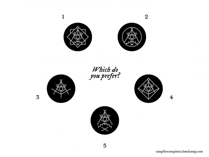 top five campfire conspiracy logos