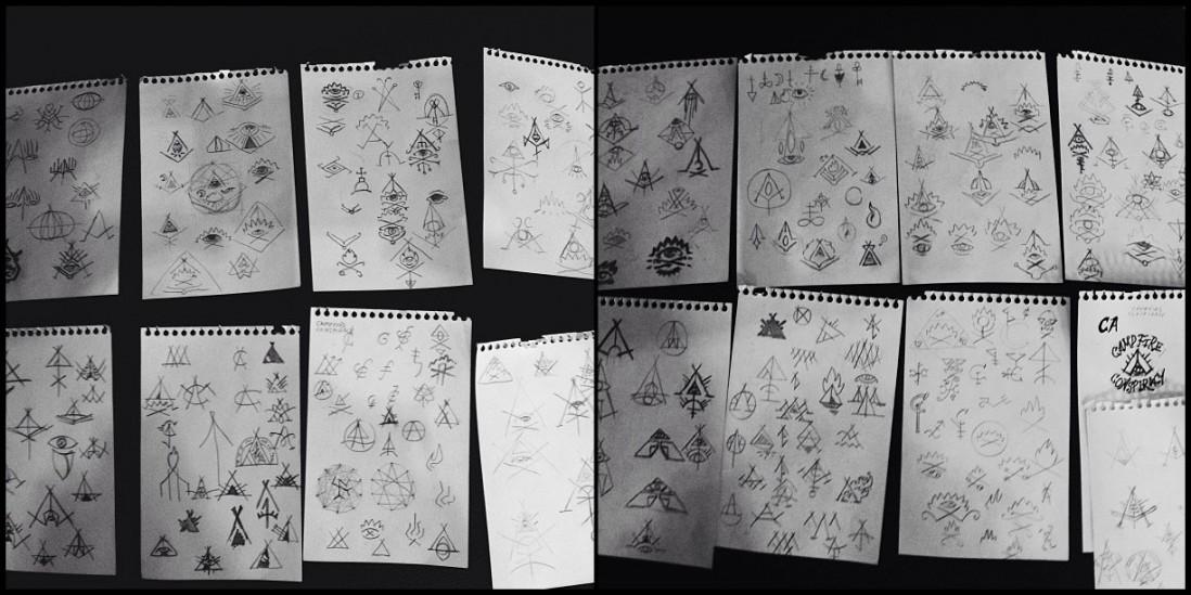 campfire conspiracy sketches