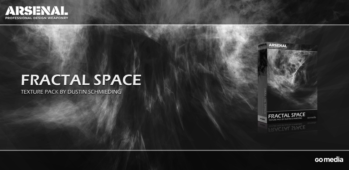 A new Arsenal release: the Fractal Space texture pack - http://arsenal.gomedia.us/fractal-space-texture-pack.html