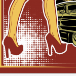 Create an Iconic Rockabilly Poster With Vector Set 22 – Last stretch