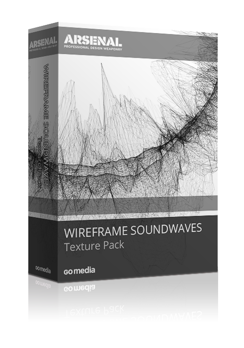 Announcing the Wireframe Sound Wave Texture Pack! - http://arsenal.gomedia.us/wireframe-sound-wave-texture-pack.html