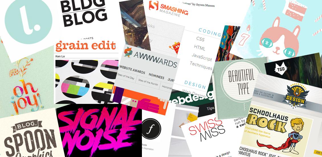 Graphic design inspiration blog  Top 100 Design & Inspiration Blogs: Go Media & Friends Favorites ...