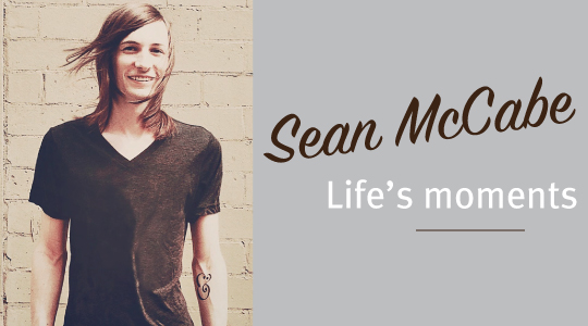 Sean McCabe has a passion for hand lettering and typography.