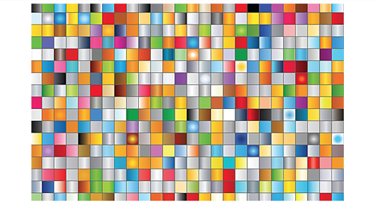 Very easy way to download and install color palette ( 5000 colors.